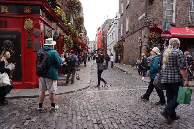アイルランドのテンプルバー