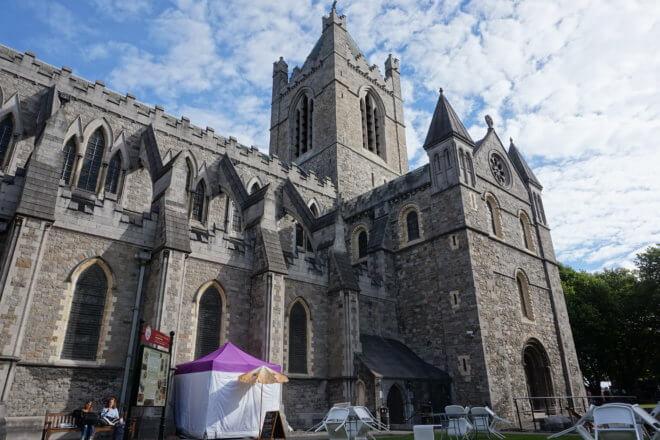 アイルランドのクライストチャーチ大聖堂