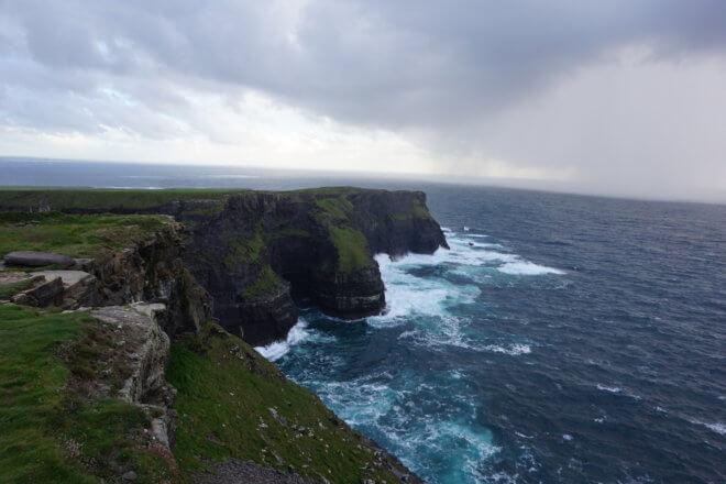 モハーの断崖の先端