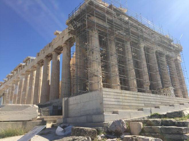 世界一周で見たパルテノン神殿