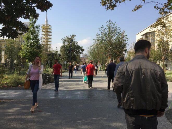 アルバニアの街