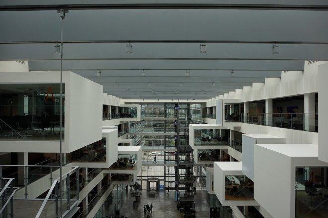 コペンハーゲンにあるヘニング・ラーセン建築、IT大学を観光してきた